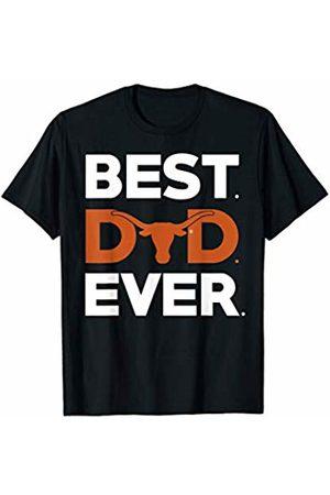 FanPrint Texas Longhorns Best Dad Ever - Apparel T-Shirt
