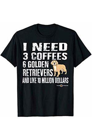 ToonTyphoon Funny Golden Retriever I Need T-Shirt