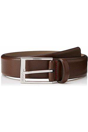 HUGO BOSS Men's Gellot_sz35 Belt, (Dark 202)