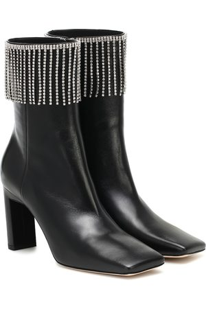 Wandler Exclusive to Mytheresa – Isa embellished leather ankle boots