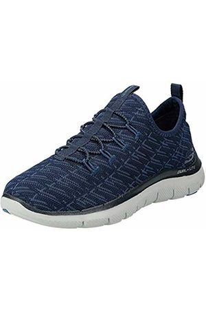 Skechers Women's 12765 Slip On Trainers, Navy/