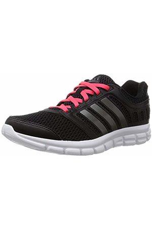 adidas Women's Breeze 101 2 Running Shoes, (Core /Night Met./Shock )