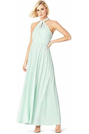 TRUTH & FABLE Mutliway Maxi Party Dress, (Celadon )