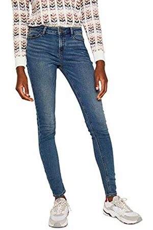 Esprit Women's 999ee1b805 Skinny Jeans, ( Medium Wash 902)