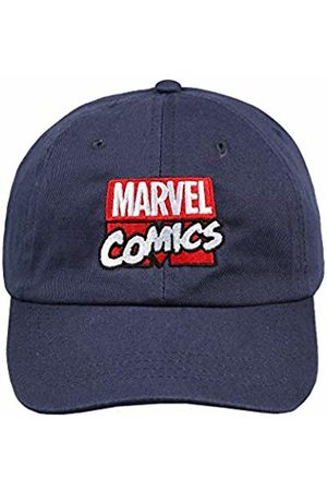 Marvel Men's Stack Logo Flat Cap