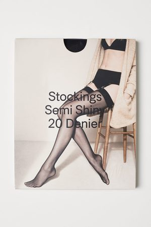 H&M 20 denier nylon stockings