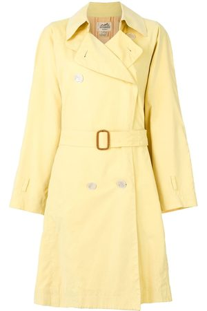 Hermès Pre-owned belted trench coat