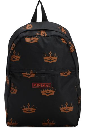 MINIMAL All Over Print Backpack W/ Patches