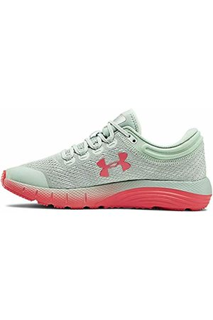Under Armour Women's Charged Bandit 5 Running Shoes, Atlas /Halo Gray/Daiquiri 300