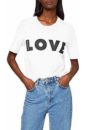 Love Moschino Women's Regular Fit Short Sleeve T-Shirt_Love Logo Print