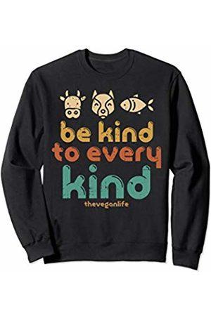 BoredKoalas Vegan Clothes Vegetarian Diet Gifts Be Kind Veganlife Cute Veganism Vegetarian Men Women Gift Sweatshirt
