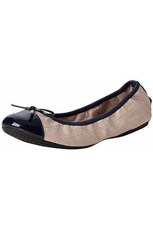 Butterfly Twists Women's Olivia Closed Toe Ballet Flats, Navy Glitter 243