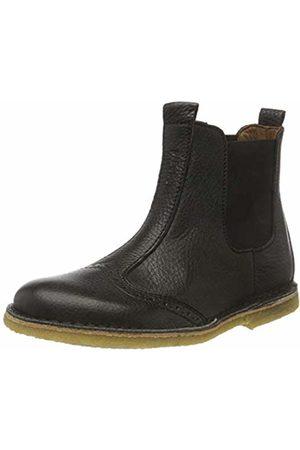 Bisgaard 50203218,Unisex Kid's Chelsea Boots Chelsea Boots, Schwarz (208 )