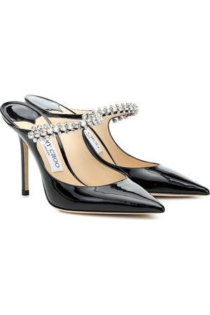 Jimmy choo Bing 100 patent leather mules