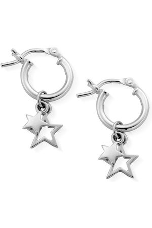 ChloBo Sterling Double Star Small Hoops