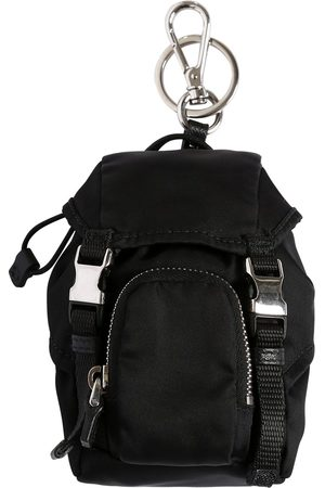 Prada Mini Nylon Backpack Key Holder