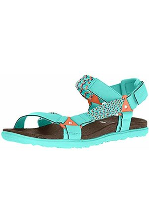Merrell Women Around Town Open Toe Sandals in Turquoise Brand New in Box