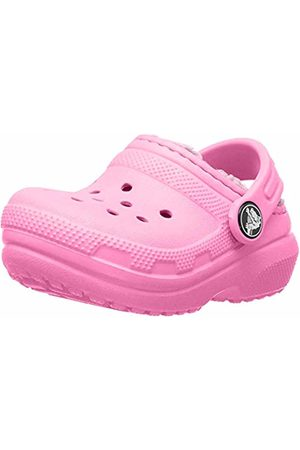 Crocs Unisex Classic Lined Clog Kids Lemonade 6m3