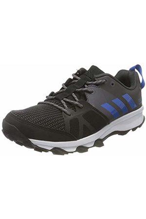 adidas Unisex Kids' Kanadia 8 K Running Shoes, (Negbas/Azul/Gritra)
