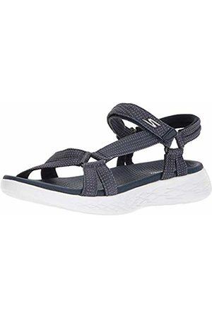 Skechers Women's Go 600 15316-nvy Sports Sandals