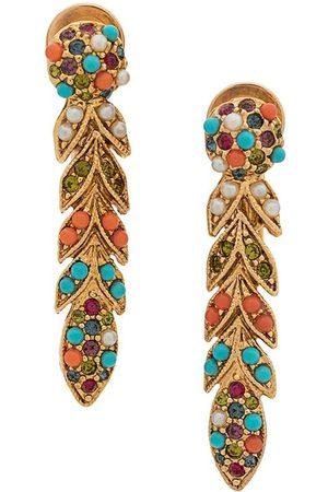 Susan Caplan Vintage Women Earrings - 1980's D'Orlan clip-on earrings
