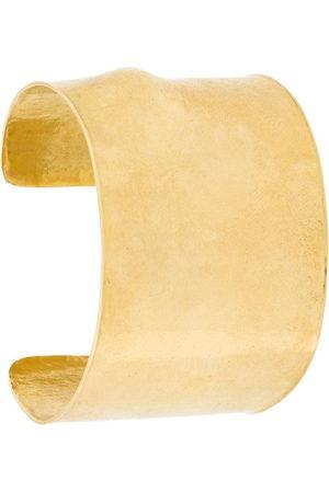WOUTERS & HENDRIX 18kt yellow gold Signature cuff - Metallic
