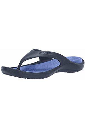 Crocs Unisex-Adult's Athens Flip Flop, (Navy/Cerulean )