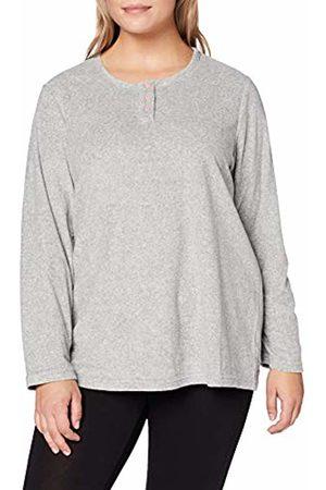 Ulla Popken Women's Frottee-Shirt Pyjama Top