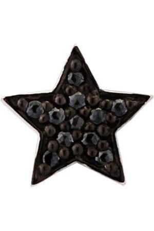 ALINKA Black rhodium 18kt white gold STASIA MINI Star diamond stud earring - Metallic