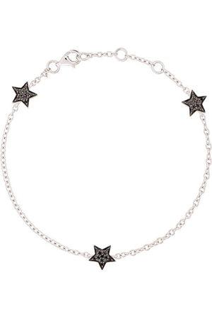 ALINKA 18kt white gold STASIA MINI Triple Star diamond bracelet - Metallic