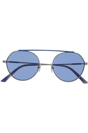 Calvin Klein Sunglasses - Two tone round frame sunglasses