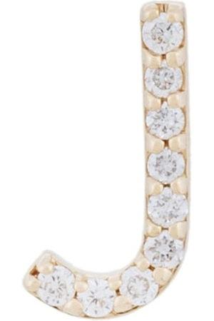 ALINKA Women Earrings - 18kt gold ID diamond stud earring - Metallic