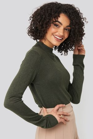Trendyol Turtleneck Knitted Top - Green