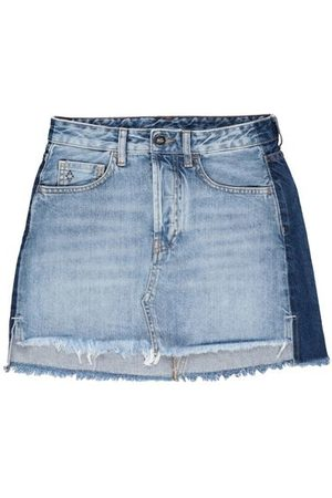 MARCELO BURLON DENIM - Denim skirts