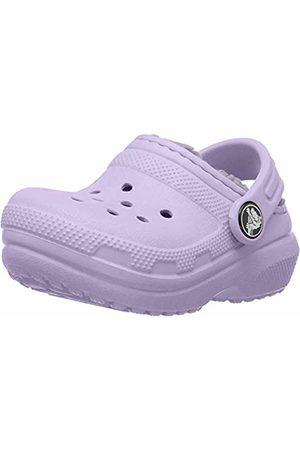 Crocs Unisex Classic Lined Clog Kids, Lavender 50p