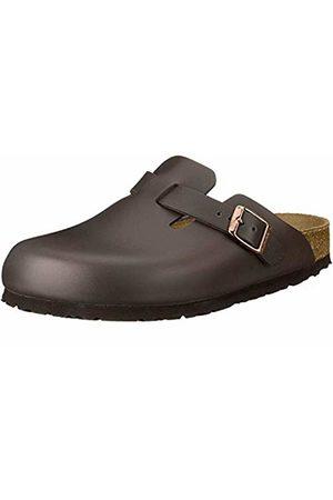 Birkenstock Boston, Unisex Adults' Clogs, Dark Leather