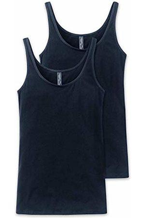 Schiesser Women's Trägertop Vest, (Midnight 804)