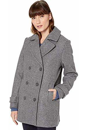 Amazon Plush Peacoat Wool Blend Coat