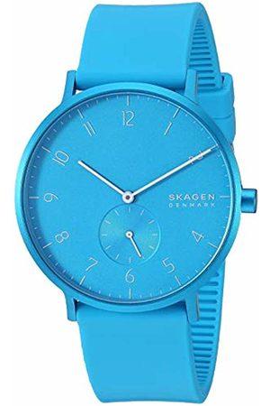 Skagen Unisex Adult Analogue Quartz Watch with Silicone Strap SKW6555