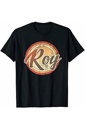 Graphic 365 Name Roy Vintage Funny Personalized Gift T-Shirt