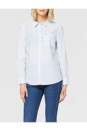 Tommy Hilfiger Women's Tjw Regular Stripe Poplin Shirt Blouse