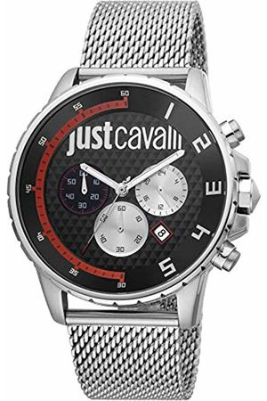 Roberto Cavalli Just Lui Watch JC1G063M0265 - Plated Stainless Steel Gents Quartz Chronograph