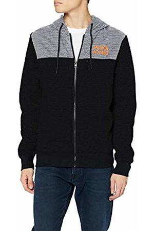 Jack & Jones Men's JCOQUILT Sweat Zip Hood Track Jacket