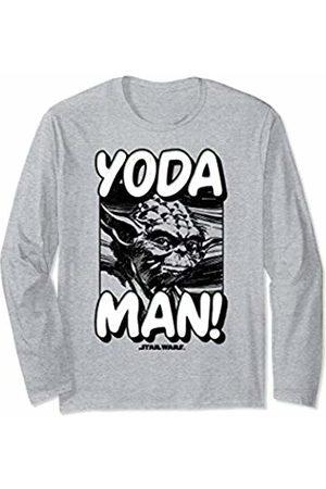 STAR WARS Yoda Man Poster Long Sleeve T-Shirt