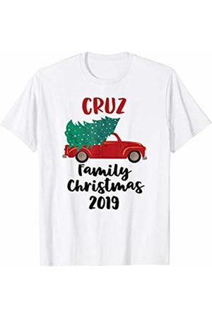 CC Christmas Family Matching Outfit Set Red Christmas Truck Tree 2019 Cruz Family Matching T-Shirt
