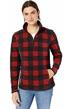 Amazon Quarter-zip Polar Fleece Jacket / Large Buffalo Plaid