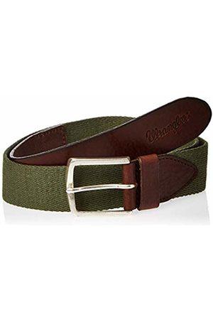 Wrangler Men's Canvas Belt (Army V7)