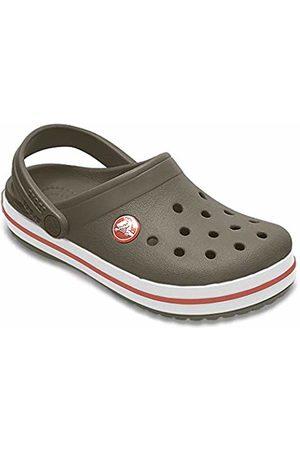 Crocs Unisex Kid's Crocband Clog K (Army -Burnt Sienna 3Tb)