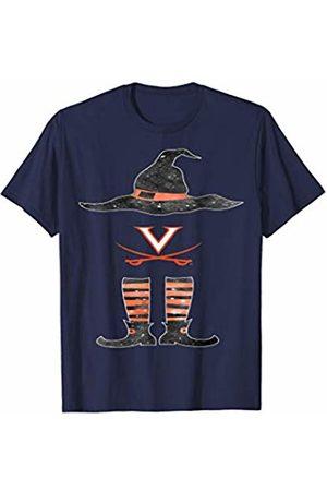 FanPrint Virginia Cavaliers Halloween Witch - Team - Apparel T-Shirt
