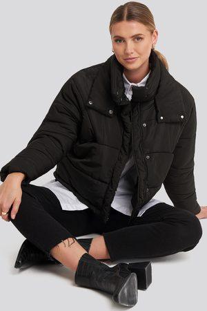 Rut & Circle Carro Puff Jacket - Black